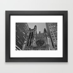 5th Avenue Church Framed Art Print