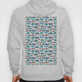 Fishing Boats Hoody