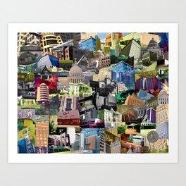 Jackson MISSISSIPPI mix Art Print