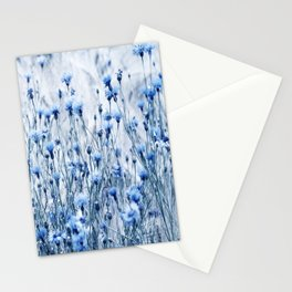 Cornflowers in summer time Stationery Cards