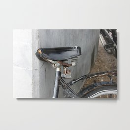 Rusty bike Copenhagen Metal Print