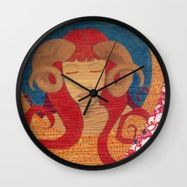 Aries, the Ram Wall Clock