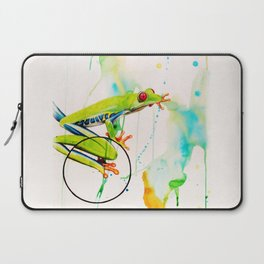 Tree frog Laptop Sleeve