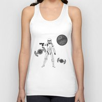 storm trooper Tank Tops featuring storm trooper by Agentsassy