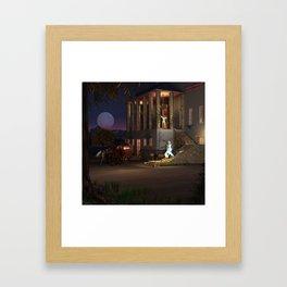 Cinderella's Coach Framed Art Print
