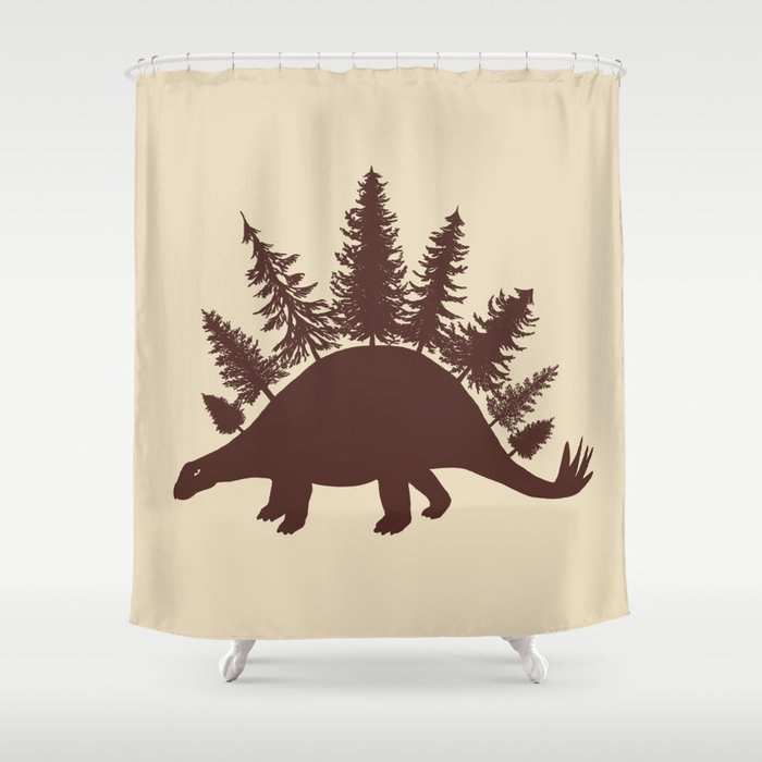 Stegoforest  Shower Curtain