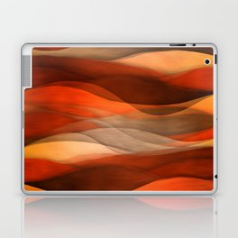 """Sea of sand and caramel waves"" Laptop & iPad Skin"