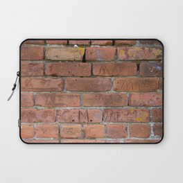 Initially Brick Laptop Sleeve