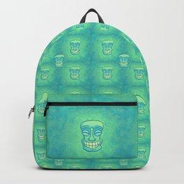 Smiley Tiki Backpack