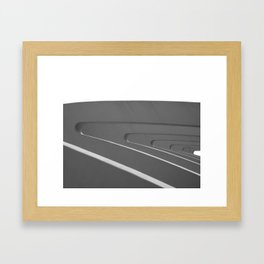 Buttresses Framed Art Print