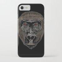 ape iPhone & iPod Cases featuring Ape by Mel McIvor