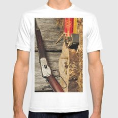Winchester Model 53 Mens Fitted Tee White MEDIUM