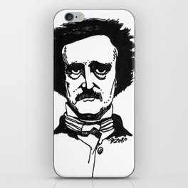 Edgar Allan Poe iPhone Skin
