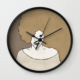 Female Four Wall Clock