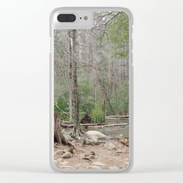 Tranquil Waters Clear iPhone Case
