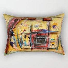 Acryl-Abstrakt 32 Rectangular Pillow