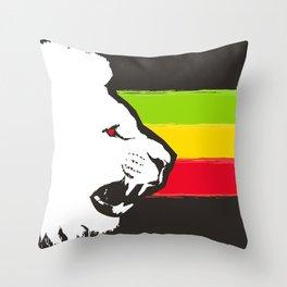 Rasta Lions (The Kingdom) Throw Pillow