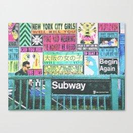 NYC Subway Art Canvas Print