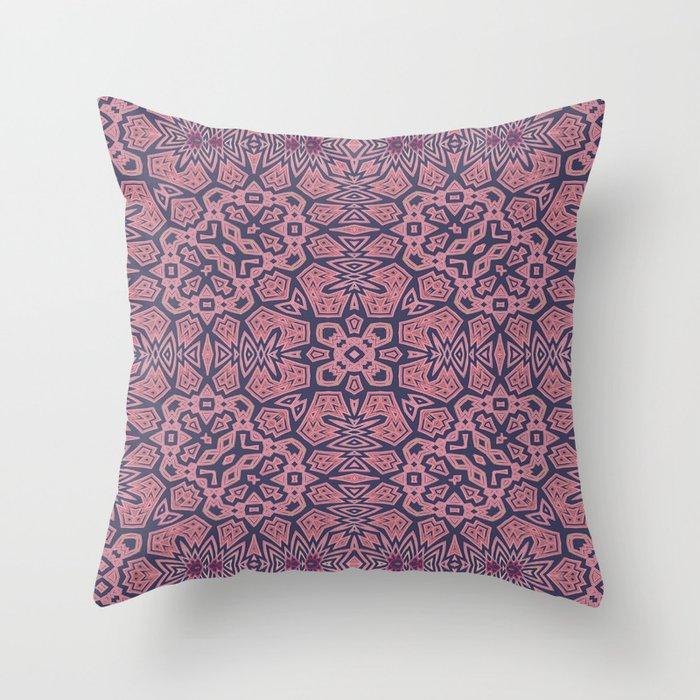 Ethnic Geo Throw Pillow