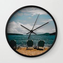 Lefkas I Wall Clock