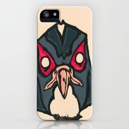 Falcon Face iPhone Case