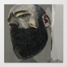 Self Portrait at 33 #3 Canvas Print