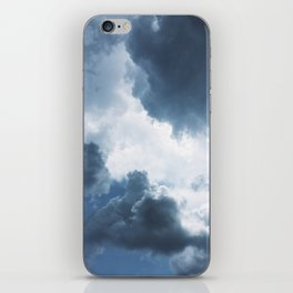 Rolling Cumulonimbus iPhone Skin