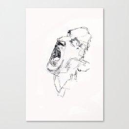 Bono Scream Canvas Print