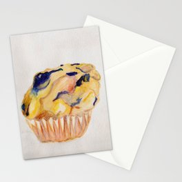 Blueberry Muffin Stationery Cards