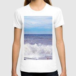 Wave Crashing onto the Beach T-shirt