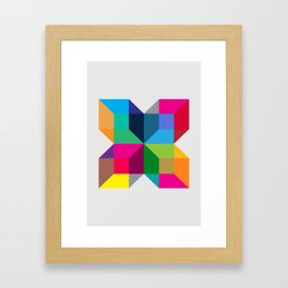 The Intersection Framed Art Print