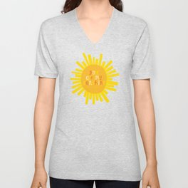 You Are My Sunshine // Yellow Unisex V-Neck