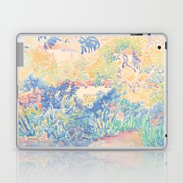 The Artist's Garden at Saint-Clair by Henri-Edmond Cross 1904-5, French Laptop & iPad Skin
