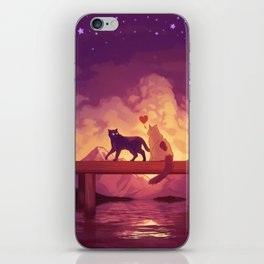 Forever Alone Together iPhone Skin
