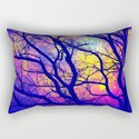 Black Trees Deep Bright & Colorful Space by vintageby2sweet