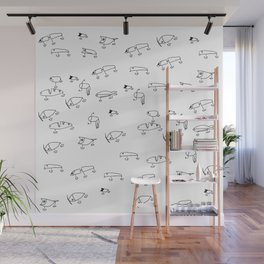 Fishing Lures 2 Wall Mural