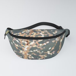 Desert Plant Abstract Fanny Pack