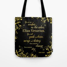 An Ember in The Ashes Quote Design Tote Bag