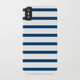 Sailor Stripes Navy & White iPhone Case