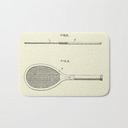 Tennis Racket-1918 Bath Mat