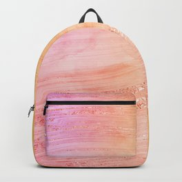 Sunset Agate Texture 03 Backpack