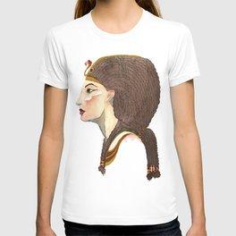 Watercolor Nefertiti Pharaoh T-shirt