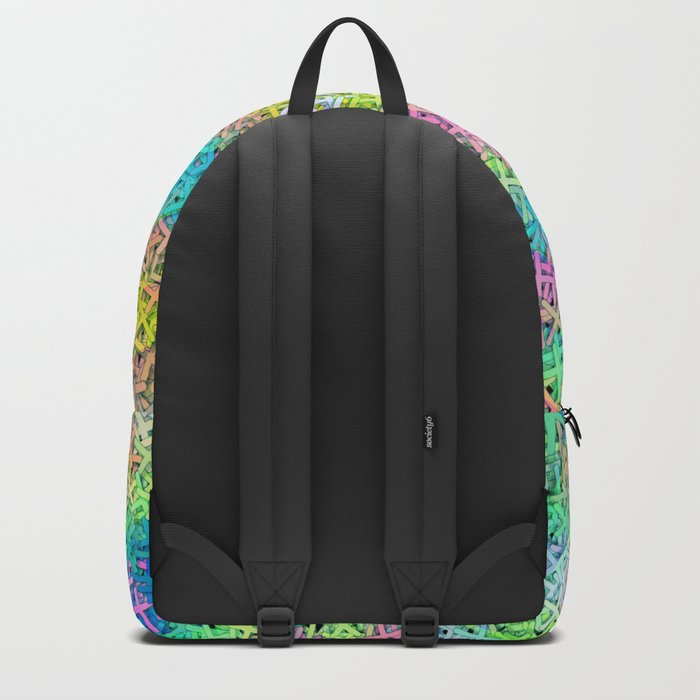A pile of colorful joy Backpack