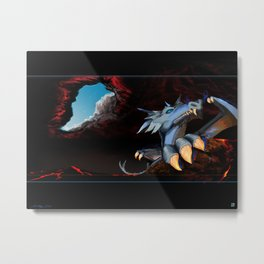 Ice Dragon 1 Metal Print