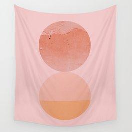 Abstraction_Circles_ART_Minimalism_001 Wall Tapestry
