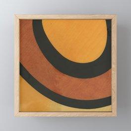 Rising Sun Graphic Design Trendy Art Framed Mini Art Print