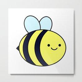 Cute Bumblebee Metal Print