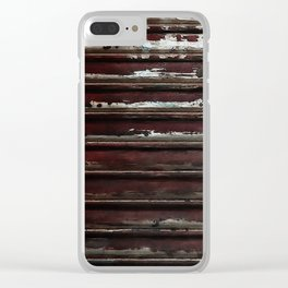 Industrial Longitude, Urban Decay, Chipped Paint Clear iPhone Case