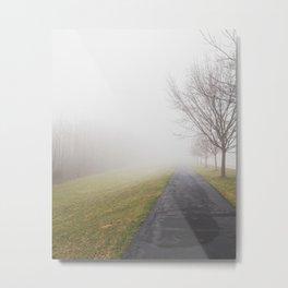 Fog in the neighborhood Metal Print