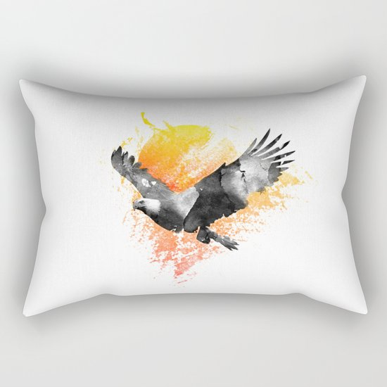 The Eagle that touched the Sun Rectangular Pillow